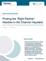 "Finding the ""Right Partner"" Needles in the Channel Haystack"